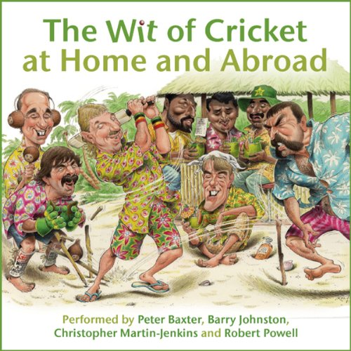 『The Wit of Cricket at Home and Abroad』のカバーアート