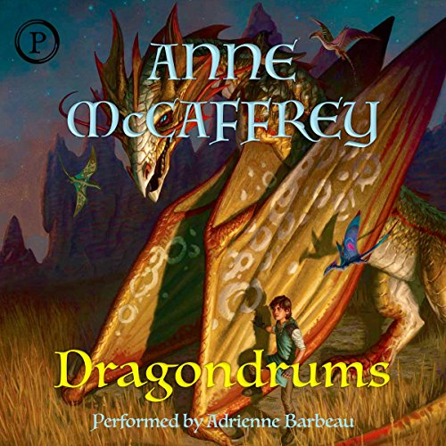 Dragondrums audiobook cover art