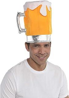 amscan 846195-55 Disfraz de sombrero de cerveza para fiesta, 1 pieza