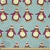 ABAKUHAUS Weihnachten Stoff als Meterware, Lustige