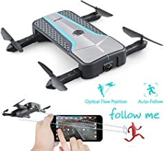 $69 » Foldable Drones with 720P Camera, RC Helicopter Quadcopter with Headless Model, Rc Drone with 2 Batteries for Kids and Adults, Easy to Fly Even to Kids and Beginners.(H62)