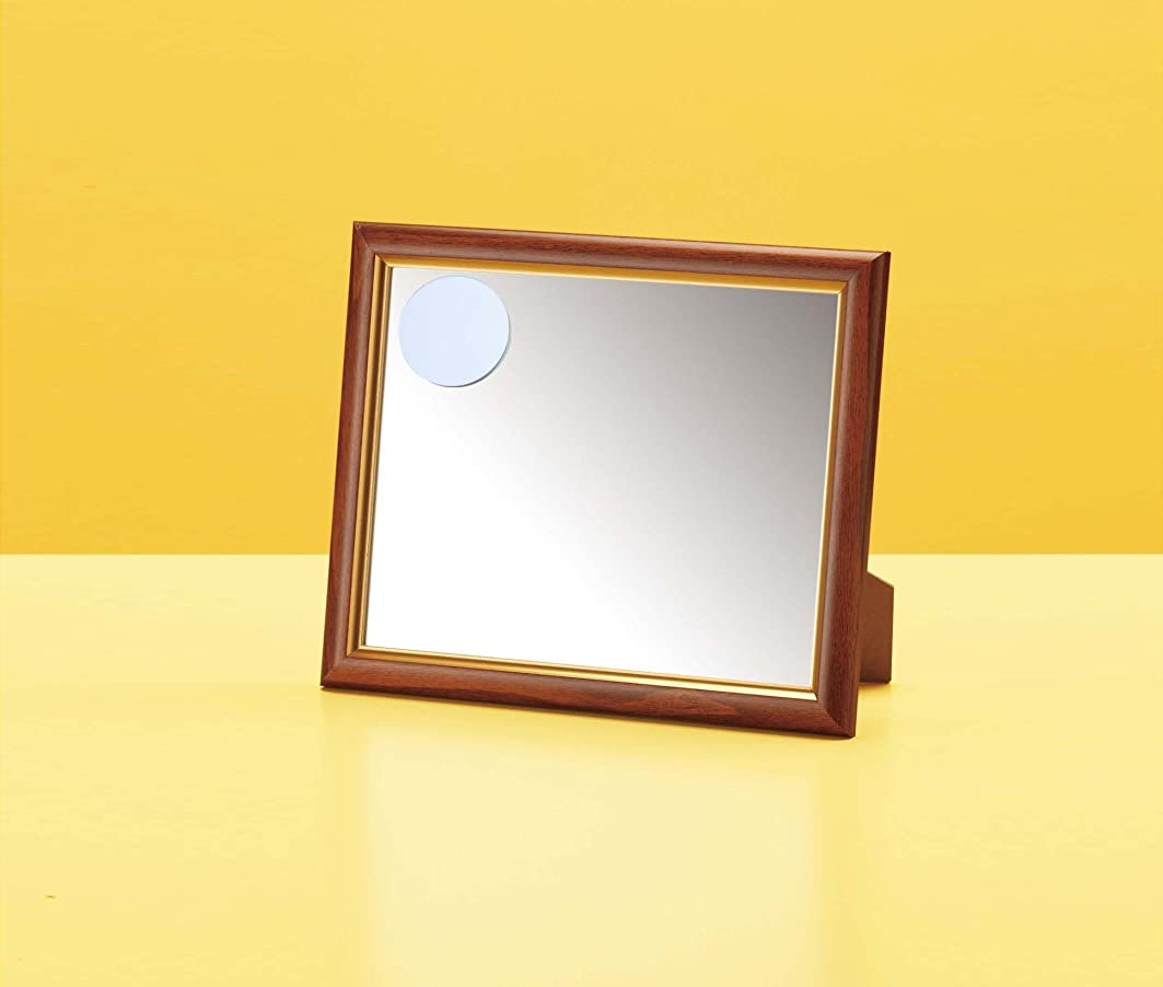 常識マイクパーク10564 拡大鏡付卓上ミラー