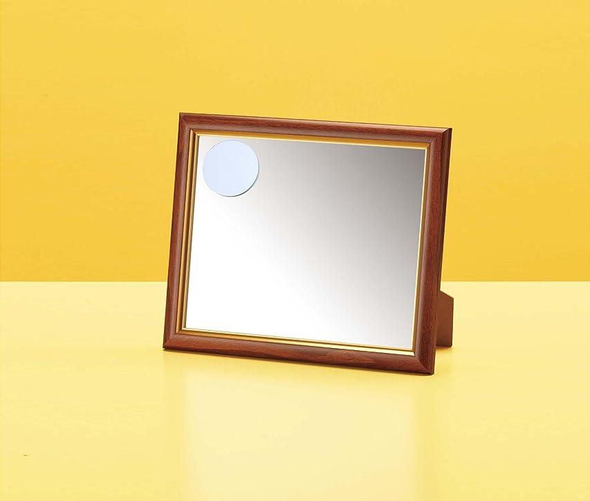 コンチネンタル発明するペデスタル10564 拡大鏡付卓上ミラー