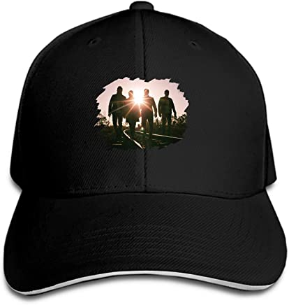 8c1158173ca11 EIGTU Wicked Cool Flat Brim Hats Snapback Cap Plain Caps for Men Women