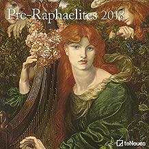 2018 Pre-Raphaelites Calender - teNeues Grid Calendar- Art Calender - 30 x 30 cm