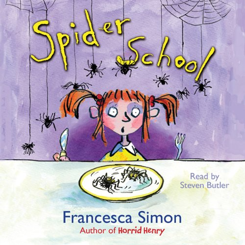 Spider School audiobook cover art