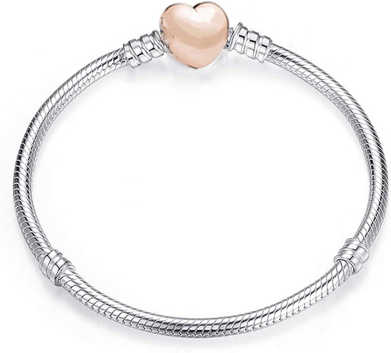 WANGJINQIAO Charm Bracelet Cute Mouse Chain Max 77% OFF Finally popular brand fine Basic Bra Snake
