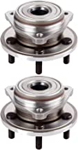 LSAILON Hub Assembly and Wheel Bearing X2 Replace for 1982-2014 Lincoln Town Car Ford Ranger Jeep Wrangler 513158 Front