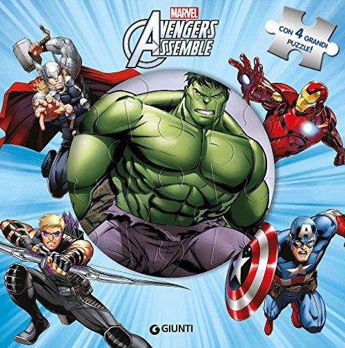 Avengers assemble. Libro puzzle. Ediz. a colori