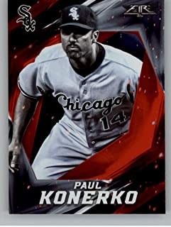 2017 Topps Fire Flame #16 Paul Konerko NM-MT White Sox