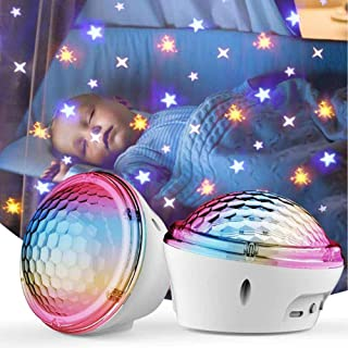 Star Projector, LED Galaxy Sky Night Light with 4 Modes and Timer for 1 2 3 4 5 6 7 8 9 10 Years Old Girls & Boys for Bedr...