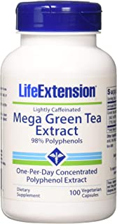 Life Extension Mega Green Tea Extract - Lightly Caffeinated