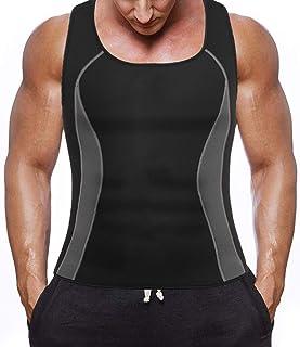 Negro S//M Negro Mujer Reductor Entrenamiento Camiseta de Tirantes Moldeador Corporal Fitness Cintura Entrenador para el Hogar Gimnasio Oficina Physical Actividades Wencaimd Sauna Sudor Chaleco