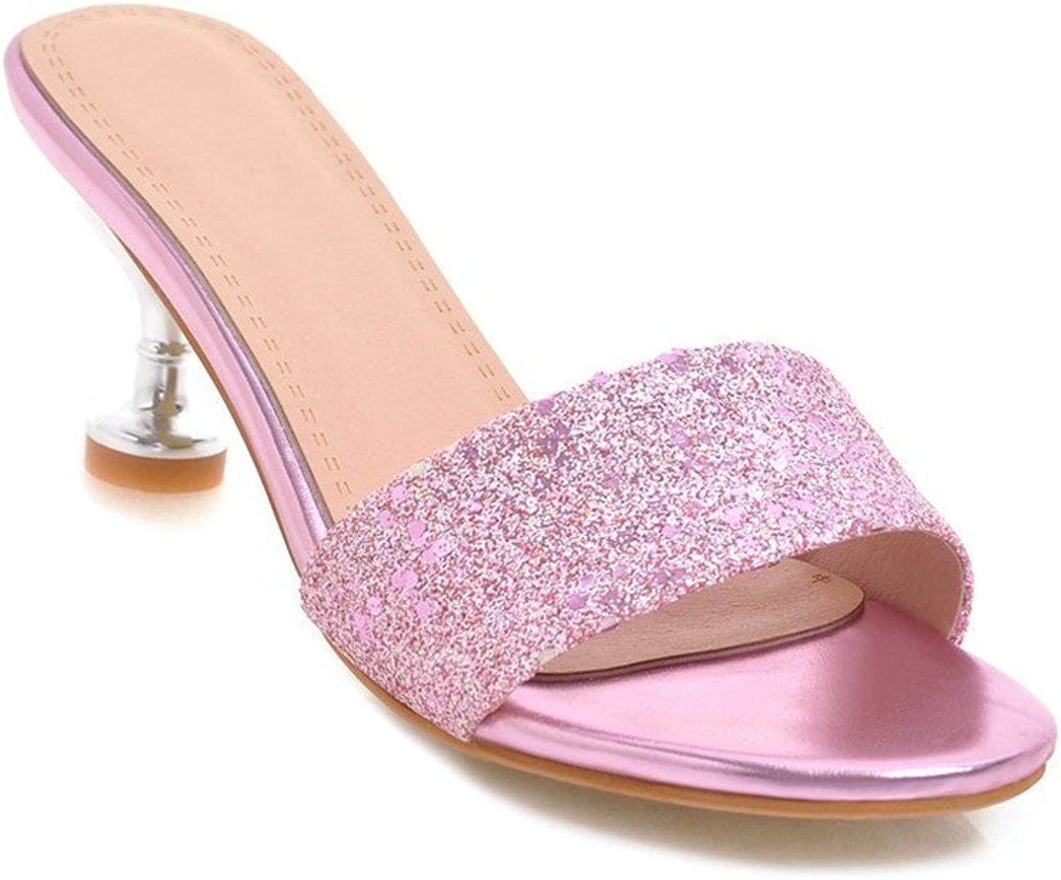 Summer Fashion high Heeled shoes Woman Type Slippers