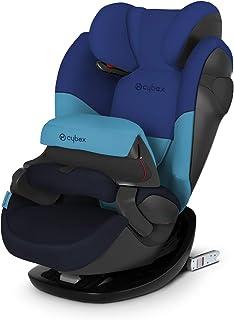 Cybex Silver Pallas M-Fix 519001093 Silla de Coche Grupo 1/2/3, 2 en 1 para Niños, para Coches con y sin Isofix, Colección Color 2019, Azul (Blue Moon)