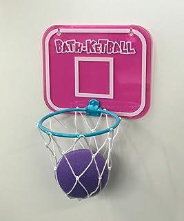 LEADWORKS (レッドワークス) バスケットボール インザバス ピンク W17×D9cm×21.5cm バスケットボール インザバス ピンク バス お風呂 スポンジ 50755