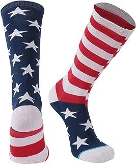 Athletic Running Socks, Gmark Unisex Crazy Funny Cartoon/American Flag/Chicken Legs Gift Holiday Socks