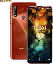 OUKITEL C17pro Unlocked Cell Phones, Android 9.0 Pie, 6.35 inch HD+ Unlocked Smartphones, 4GB Ram+64GB ROM, Face ID Fingerprint Reader, 1300 MP+,3900mAh Battery Android Phone (Global) (Orange)
