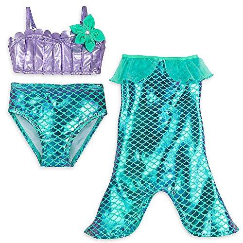Disney Ariel Swimwear Set for Girls Size 4