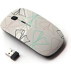 KawaiiMouse [ Optical 2.4G Wireless Mouse ] Beige Teal Gift Girly Cute Sweet