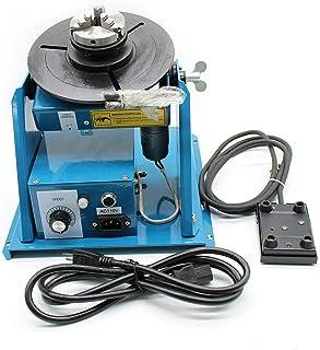Posicionador de soldadura, 15W 220v Placa giratoria de soldadura 10kg / 5kg, Platina de