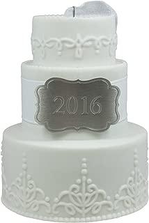Hallmark Keepsake Ornament Wedding Cake 2016
