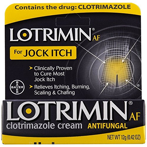 Lotrimin AF Jock Itch Antifungal Cream 0.42 oz (Pack of 3)
