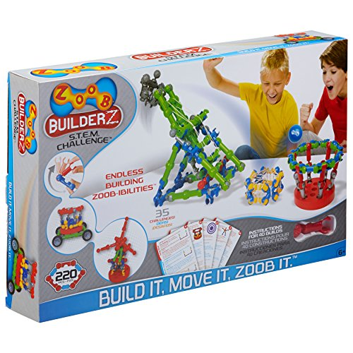 ZOOB BuilderZ S.T.E.M. Challenge Moving...