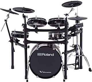 Roland High-performance, Mid-level Electronic V-Drum Set (TD-25KVX) with 12