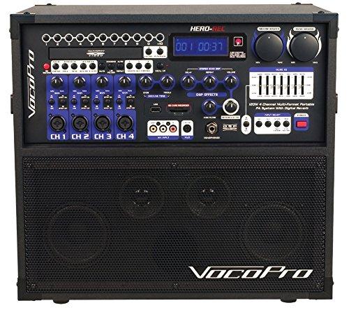 VocoPro Karaoke System, MultiColored (HERORECBASIC)