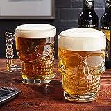 MIR9 Multi-ply Beer Mug - 2 Pieces, Multicolour, 520 ml