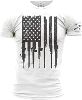 Grunt Style Rifle Flag Men's T-Shirt