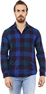 Mufti Royal Shirt with Multicolored Checks