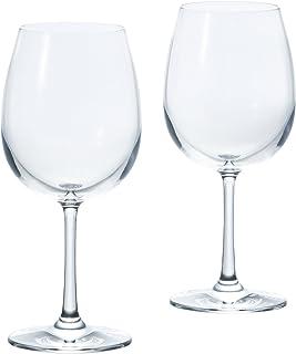 アデリア ワイングラス クリア 450ml フラネ ボルドーM ペアセット 食器洗浄機対応 日本製 S-5723