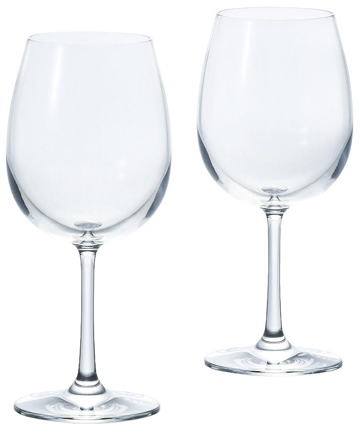 確かなパンフレット不誠実アデリア ワイングラス ボルドー クリア M 450ml フラネ 2個セット 食洗機対応 日本製 S-5723