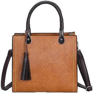 VogueZone009 Women's Casual Shopping Tote Bags Pu Crossbody Bags,CCABO206529
