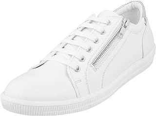 Mochi Men White Synthetic Flat Shoes (71-9379)