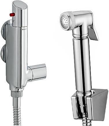 Complete Bidet Set for Toilet Hand Bidet Sprayer for Toilet WS024AF CIENCIA Hand Held Bidet Sprayer Premium Stainless Steel Sprayer Shattaf