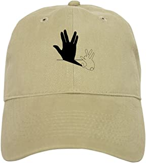 Star Trek Rabbit Vulcan Hand Shadow Baseball Cap