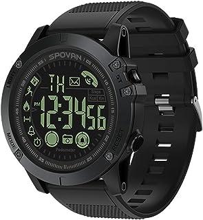 SmartWach, IP68 Wodoodporna, Smart GPS Zegar Android Elektroniczny Zegarek Dotykowy Krokomierz Wzywy Telefon Man Relogio I...