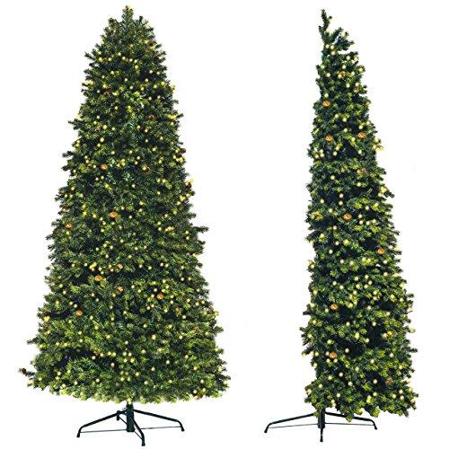 Árbol de Navidad Artificial de pared Premium   Medio árbol para ahorrar...