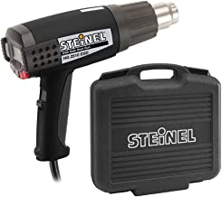 Steinel HG 2510 ESD Case - pogrammable IntelliTemp Heat Gun, LDC Display, 1600 W power blowing hot heat, temperature and airflow continuously variable, lockable override control, ideal for use on electronics and medical manufacturing, 34890