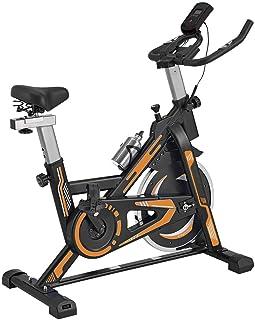 TRÉBOL ADVANCE Bicicleta de Spinning Pantalla LCD, Resisten