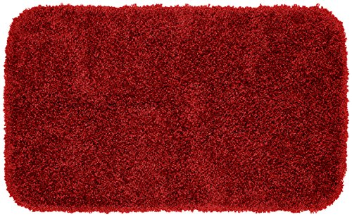 Garland Rug Serendipity Shaggy Washable Nylon Rug, 24-Inch by 40-Inch, Chili Pepper Red