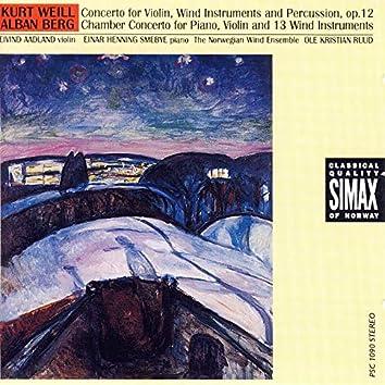 Kurt Weill / Alban Berg: Concertos
