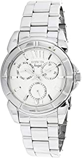 Invicta Women's 'Angel' Quartz Stainless Steel Casual Watch, Color:Silver-Toned (Model: 21699)