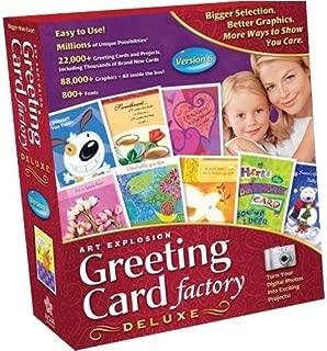 NOVA Art Explosion Greeting Card Factory Deluxe 6.0
