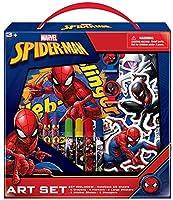 マーベル アベンジャーズ スパイダーマン キッズ カラーリングアートセット ステッカーとスタンプ付き