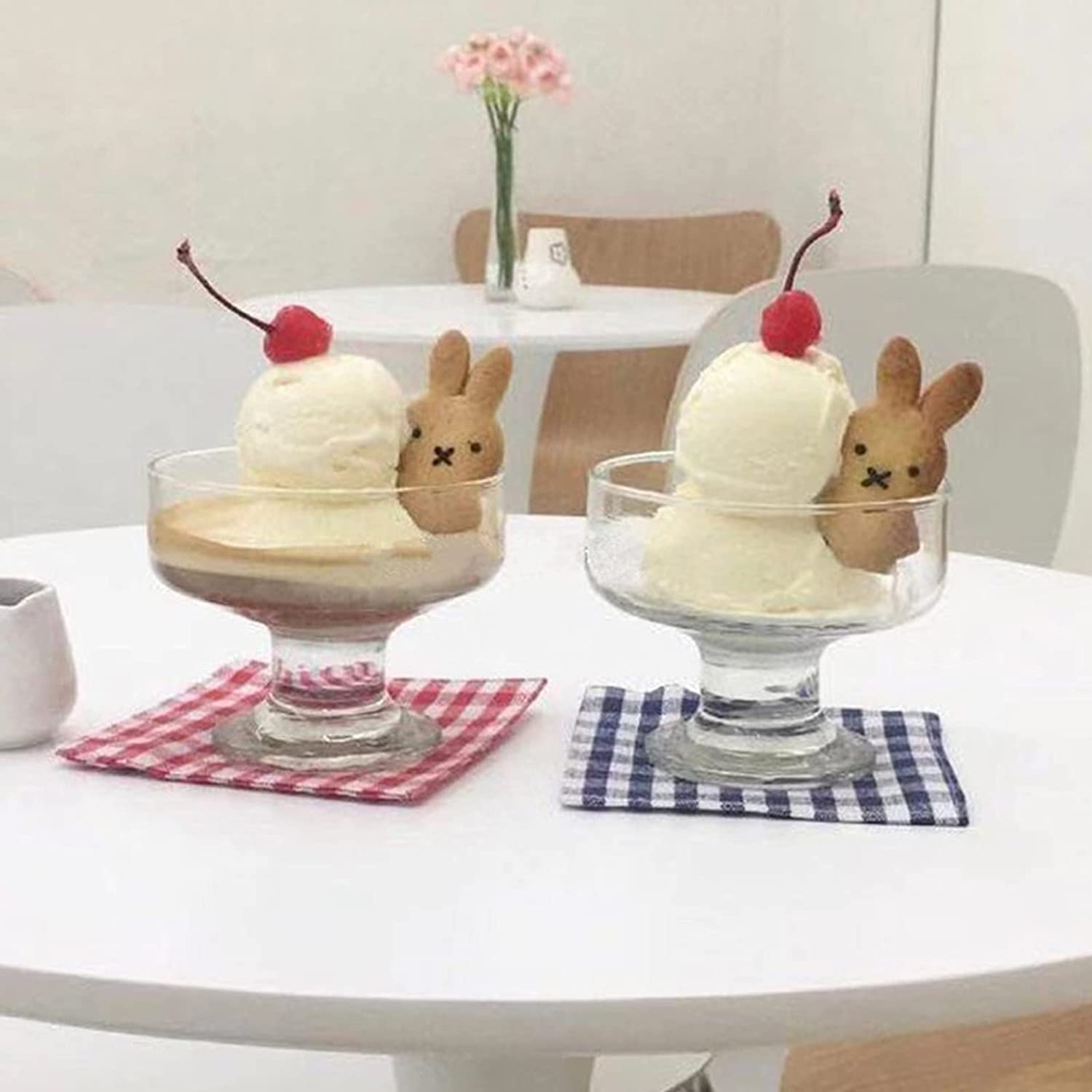 NBJT Modern Sale Special Price Ice Cream Yogurt Dessert Cup Tall Simple New product!! Bowl