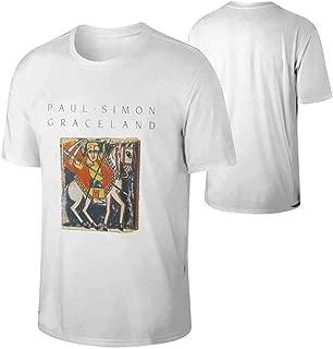 Lzeasiea Paul Simon Graceland Men's Tee Funny T-Shirt